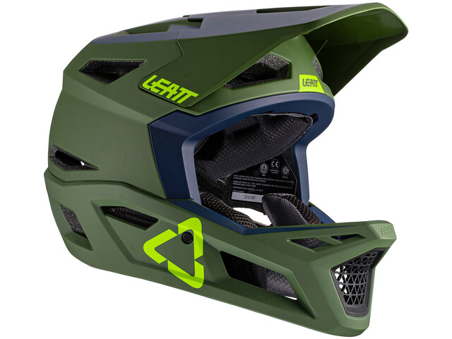 Leatt DBX 4.0 DH Helmet, cactus
